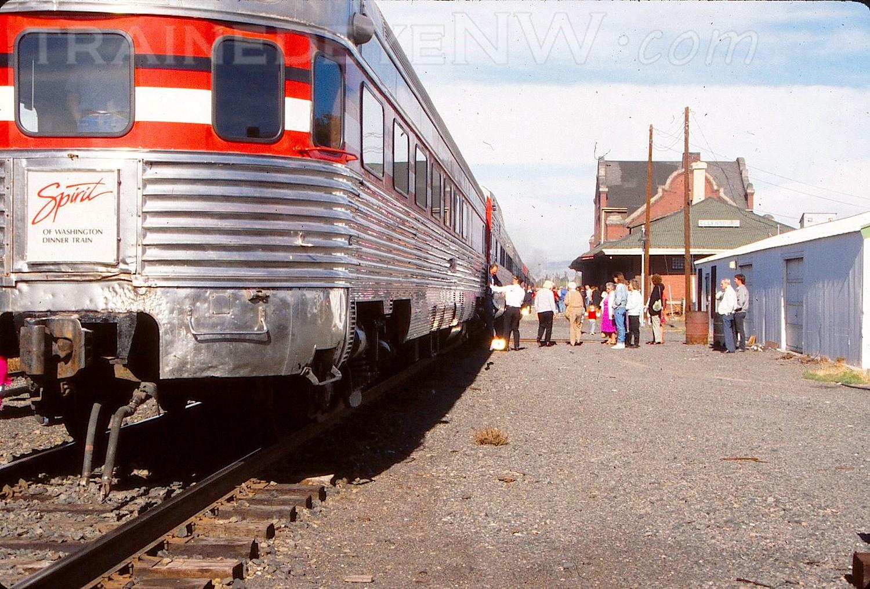 Amtrak Mooning Pictures spirit of washington dinner train - yakima - trained eye